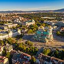 Photo of downtown Sophia, Bulgaria
