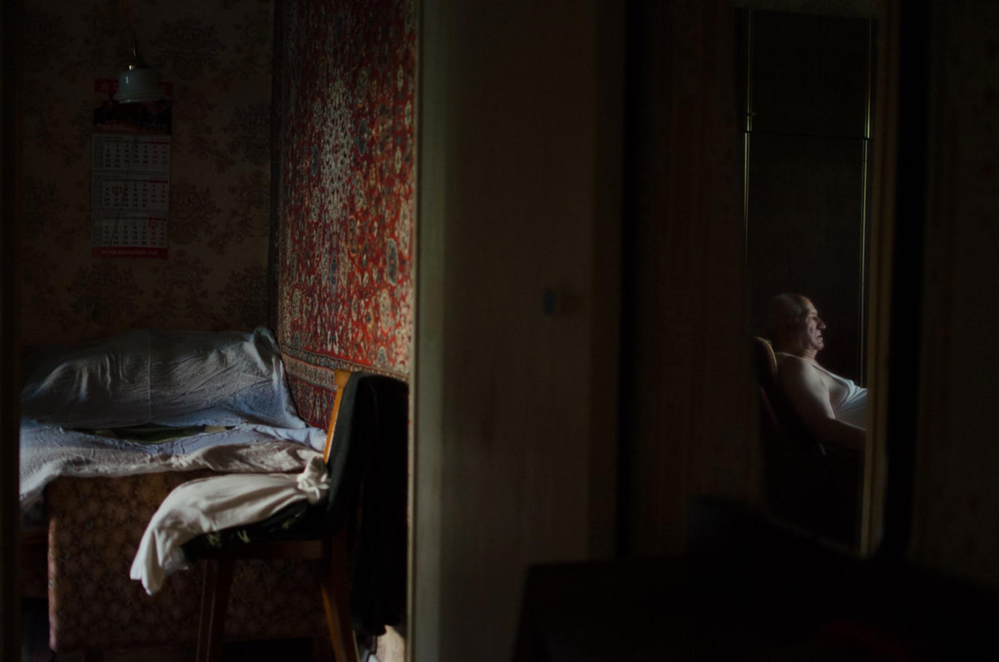 Older man in Moldova. Photo credit: Moldova 2015 Eduard Bizgu/UNFPA Moldova
