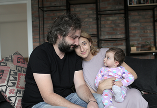 The Dedalamazishvili family in Georgia