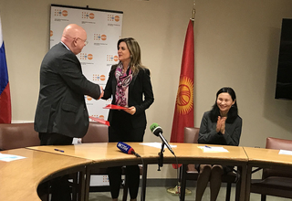 KYRGYZSTAT signing ceremony