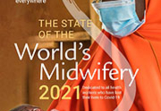 Cover of the State of the World's Midwifery 2021 report