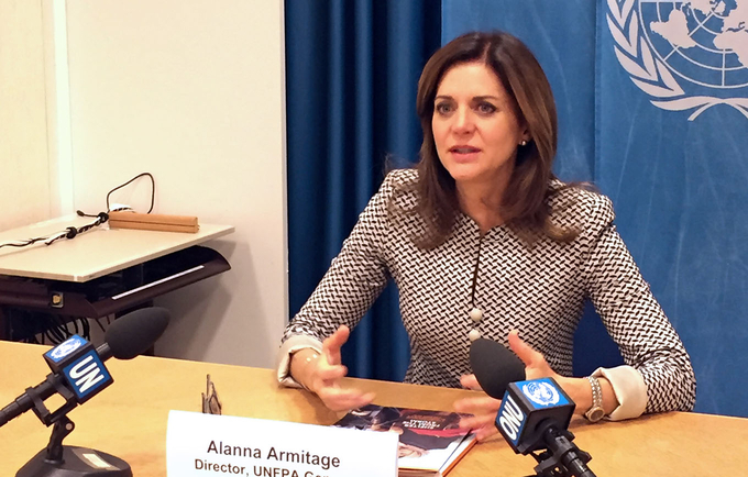 UNFPA Eastern Europe and Central Asia Regional Director Alanna Armitage