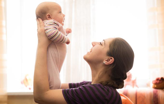 Anya Shevko with her daughter, Nastya