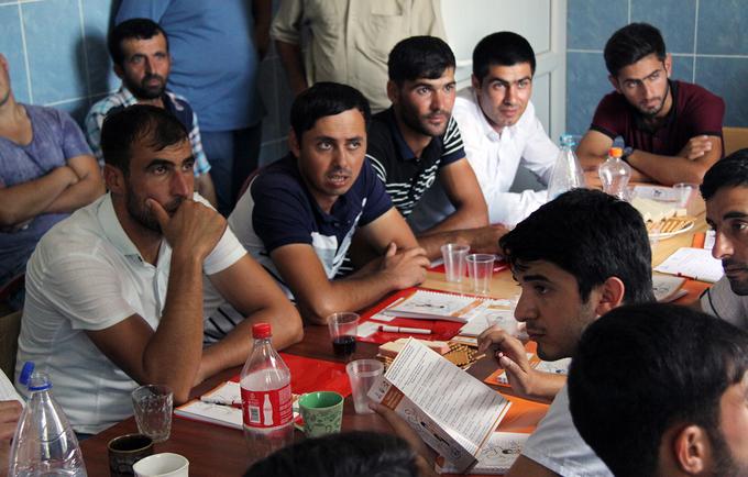 Engaging men to fight GBV in Azerbaijan