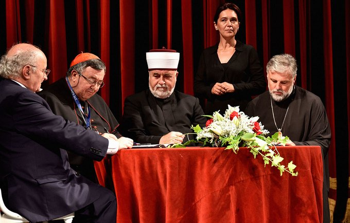Members of the Inter-religious Council in Bosnia and Herzegovina