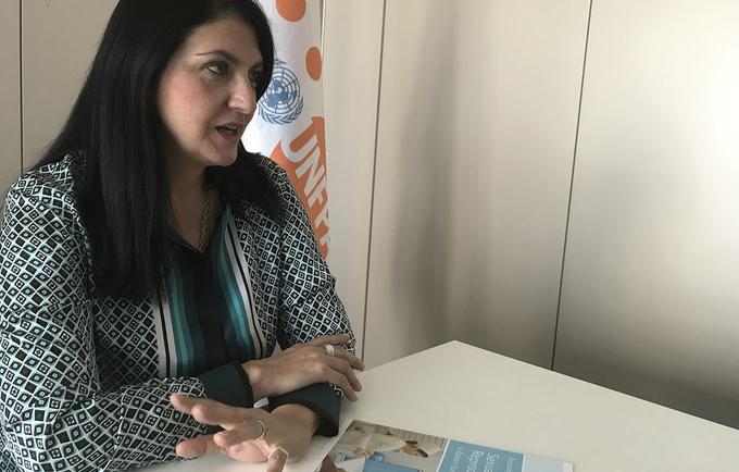 Dr. Tamar Khomasuridze, UNFPA Regional Sexual and Reproductive Health Adviser