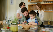 Father's Day cooking class at the Culinarium Cooking School in Tbilisi