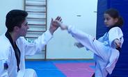 Taekwondo champion Farida Azizova