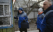 UNFPA mobile team makes a house call in eastern Ukraine
