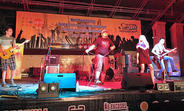 Orange Fest concert in Almaty