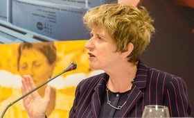 UNFPA Deputy Executive Director Kate Gilmore speaks at the regional UNFPA conference on Promoting Health and Rights, Reducing Inequalities, in Sofia on 27 May 2015