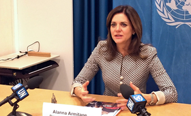 New UNFPA Eastern Europe and Central Asia Regional Director Alanna Armitage