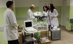 Health workers in Serbia