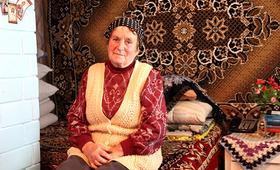 Bahrinesti resident Tatiana Chiveri, age 72